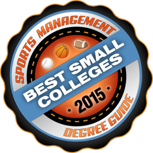 Sports Management Degree Guide - Best Small Colleges 2015
