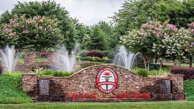North Greenville University - Bachelor's Sports Management Degree 2016